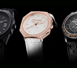 Roberto Cavalli: orologi artistici con Franck Muller