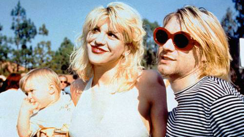 Courtney Love produrrà un film su Kurt Cobain
