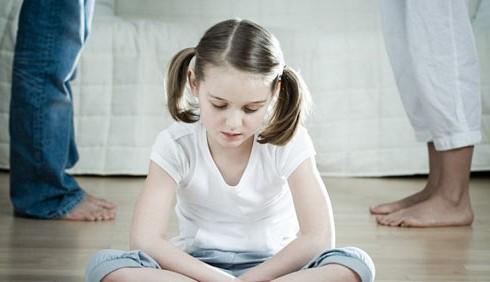 Le reazioni dei bambini alla separazione