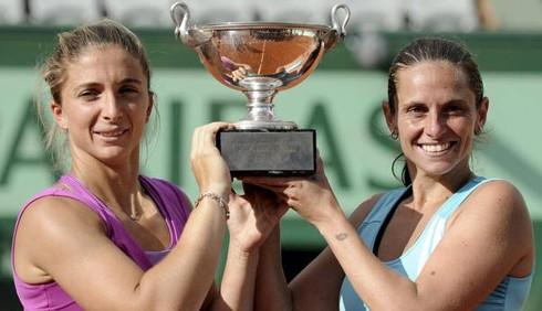 Tennis: Errani e Vinci contro Sharapova e Ivanovic per la Grande Sfida