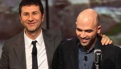 Roberto Saviano è tornato da Fabio Fazio