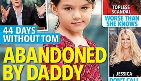 Tom Cruise denuncia la stampa: Suri mai abbandonata