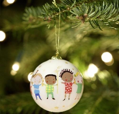 Biglietti Di Natale Unicef 2020.Idee Natalizie Le Palline Di Natale Unicef Artigianali E