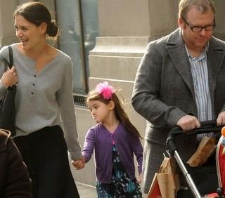 Katie Holmes e Suri Cruise felici a Manhattan