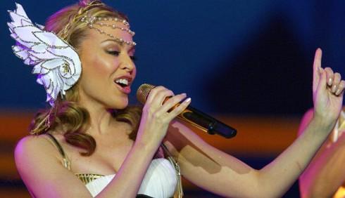 Kylie Minogue per la finale di X-Factor 6