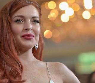Lindsay Lohan: première di Liz&Dick, foto