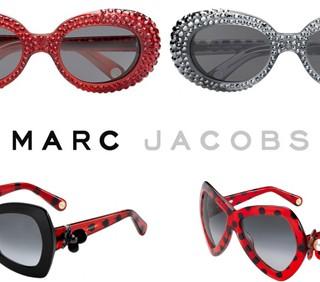 Marc Jacobs: Swarovski e pois nella nuova linea di occhiali