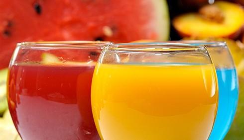 Più frutta nelle bevande analcoliche