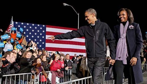 Barack Obama rieletto alla Casa Bianca