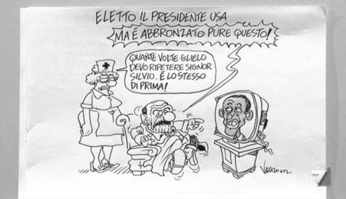 Servizio Pubblico ieri tra Barack Obama e Antonio Di Pietro