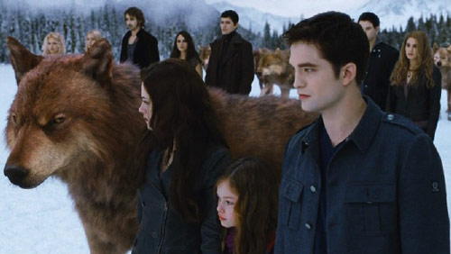 Breaking Dawn Parte 2 monopolizza il Web