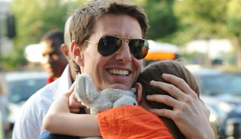 Tom Cruise: Ringraziamento con Suri senza Katie Holmes