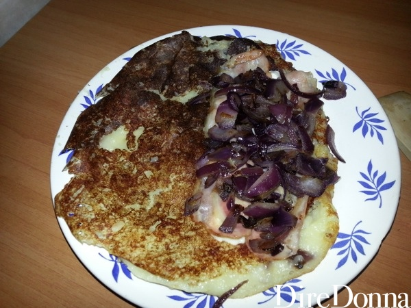 Pancake con ripieno