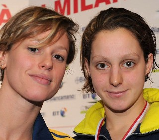 Alice Mizzau ai mondiali di nuoto di Istanbul