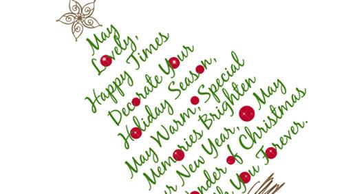 Immagini Natalizie Con Scritte.Albero Di Natale 2012 Tutte Le Tendenze Diredonna
