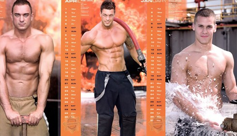 Calendario 2013 dei pompieri inglesi