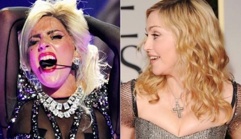 Madonna e Lady Gaga: la rivalità 2012