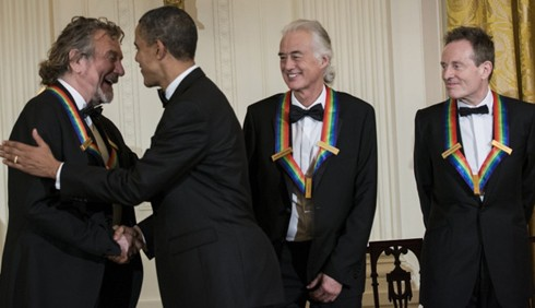 I Led Zeppelin alla Casa Bianca