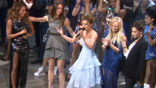 Le Spice Girls all'anteprima di Viva Forever