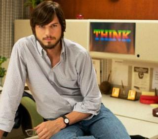 Ashton Kutcher: prima foto di jOBS Get Inspired