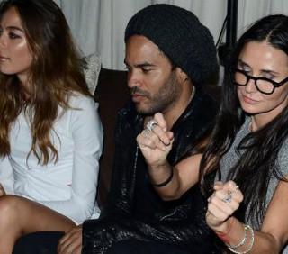 Demi Moore scatenata per sedurre Lenny Kravitz