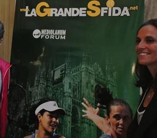 Tennis, Grande Sfida: Errani e Vinci regine del doppio
