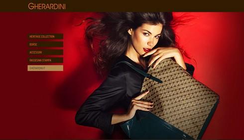 Gherardini lancia il sito per l'e-shopping