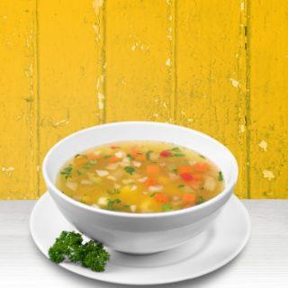 Minestrone di verdure fresche, ricetta light