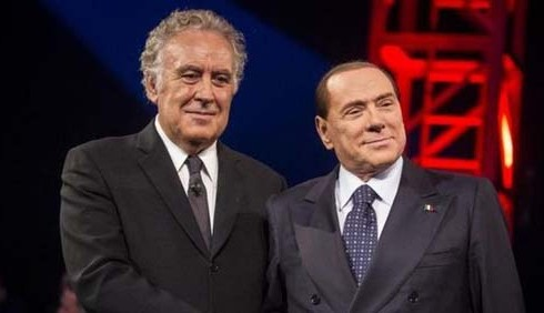 Servizio Pubblico: Silvio Berlusconi tiene testa a Michele Santoro