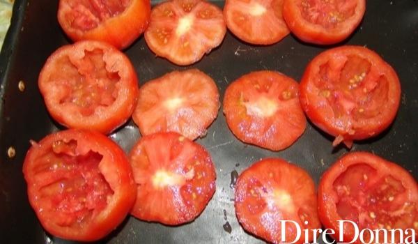 Calotta di pomodori