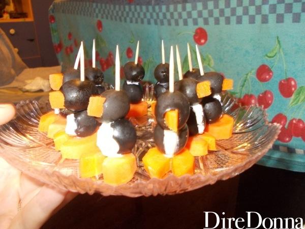 Pinguini olive e carote