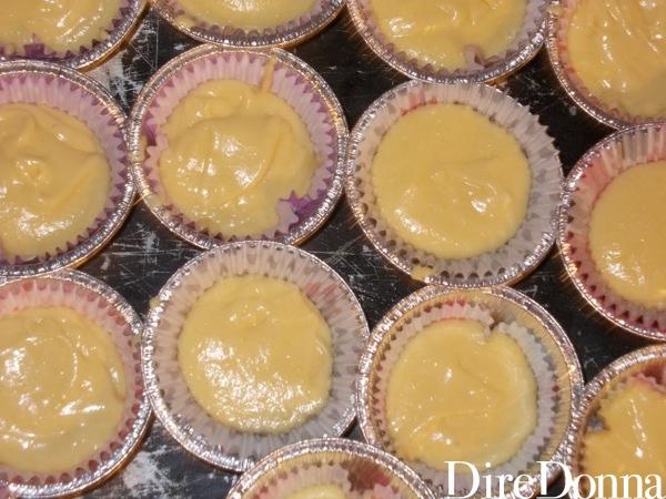 Pirottini per muffin pieni