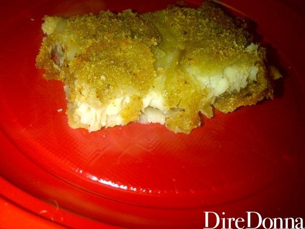 Halibut in crosta di patate