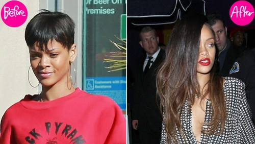 Rihanna, capelli lunghi per Chris Brown