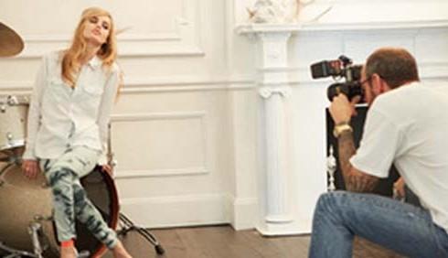 H&M e Georgia May Jagger per la Rock'N'Roll Mansion