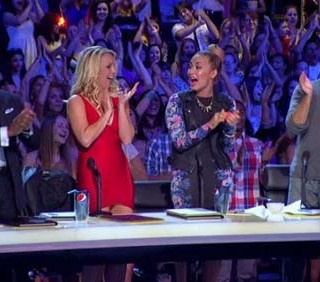 X-Factor USA con Britney Spears è sbarcato su SkyUNO