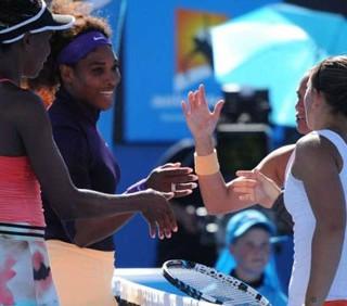 Australian Open: Errani-Vinci in semifinale, sorelle Williams ko