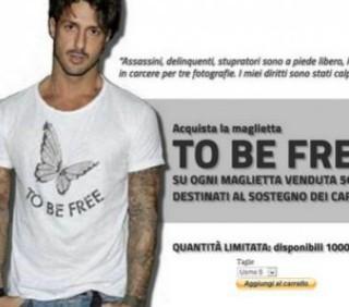 Fabrizio Corona, magliette dal carcere