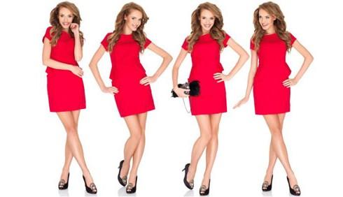 Più autostima con un abito rosso in ufficio