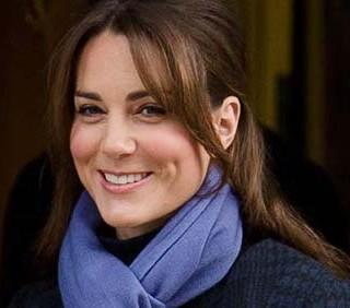 Kate Middleton sempre più sorridente