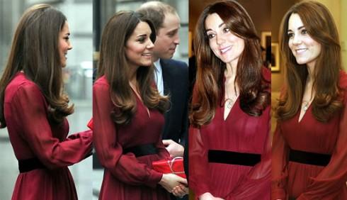Kate Middleton, si intravede la pancia