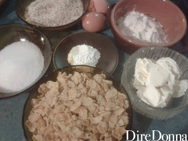 Ingredienti biscotti
