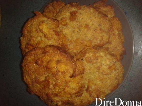 Ricetta pronta biscotti ai fiocchi di mais