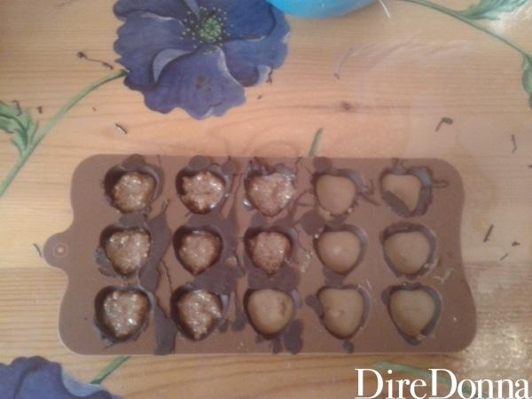 Pirottini per cioccolatini a cuore