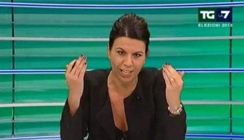 Geppi Cucciari spopola in TV con il TG Elettorale