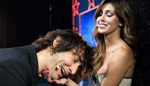 Belen Rodriguez e la falsa relazione con Simone Annicchiarico