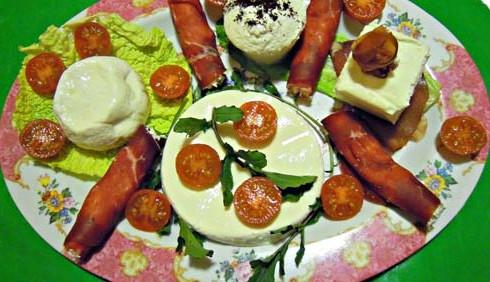 Decorazioni di antipasti, idee per ricette