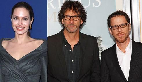 Angelina Jolie assolda i Fratelli Coen