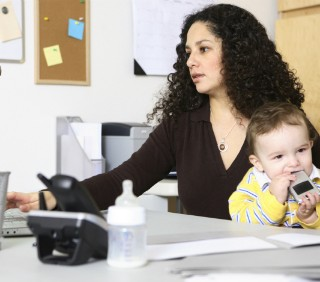 Il curriculum vitae delle mamme a tempo pieno
