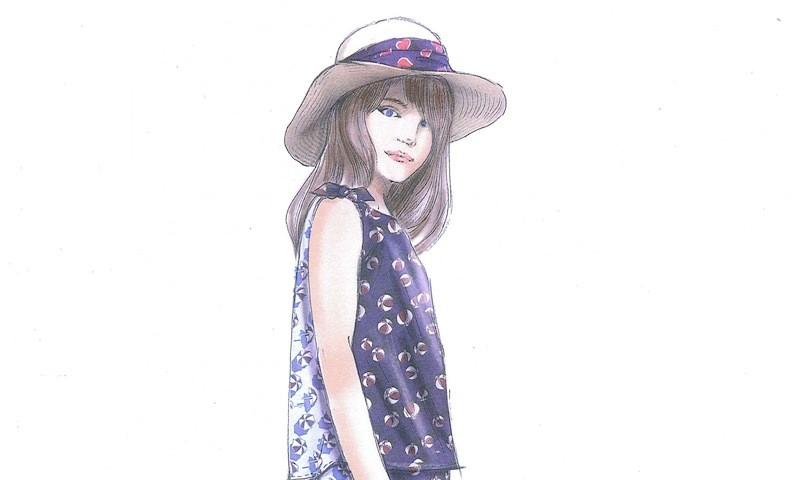 6885e26c3f Moda bambini primavera estate 2014: la collezione di Gucci. Le foto ...